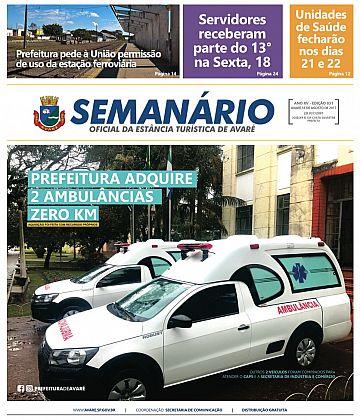 Semanário Oficial - Ed. 831