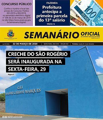 Semanário Oficial - Ed. 902