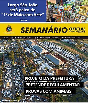 Semanário Oficial - Ed. 907