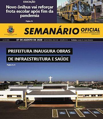 Semanário Oficial - Ed. 974