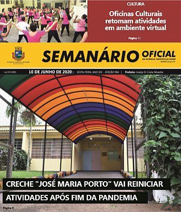 Semanário Oficial - Ed. 966