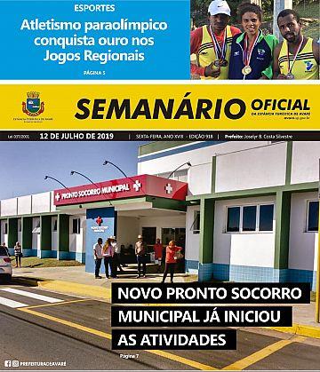Semanário Oficial - Ed. 918