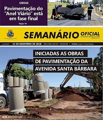 Semanário Oficial - Ed. 888