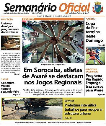Semanário Oficial - Ed. 827