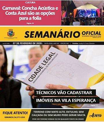 Semanário Oficial - Ed. 948