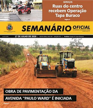 Semanário Oficial - Ed. 971