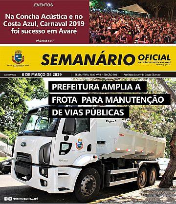 Semanário Oficial - Ed. 900