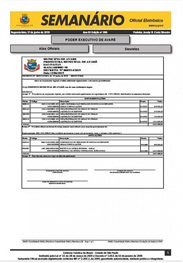 Semanário Oficial - Ed. 366