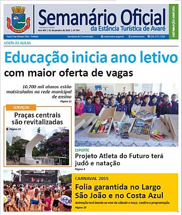 Semanário Oficial - Ed. 704