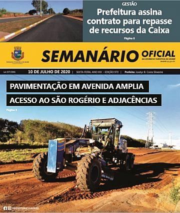 Semanário Oficial - Ed. 970