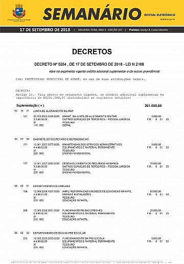 Semanário Oficial - Ed. 207