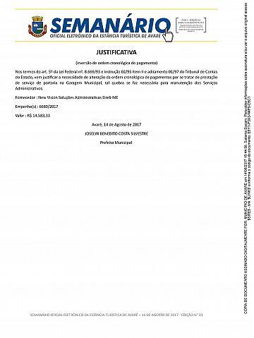 Semanário Oficial - Ed. 33