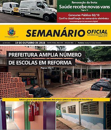 Semanário Oficial - Ed. 880