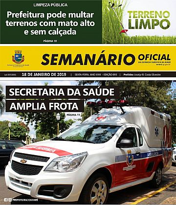 Semanário Oficial - Ed. 893