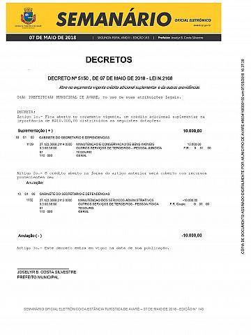 Semanário Oficial - Ed. 143