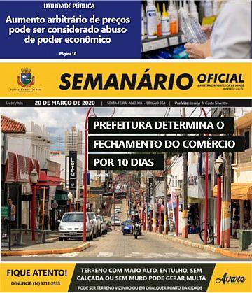 Semanário Oficial - Ed. 954