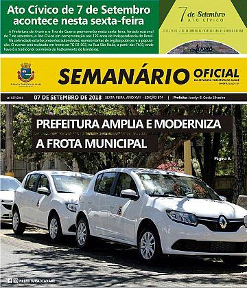 Semanário Oficial - Ed. 874