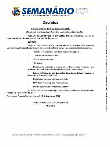 Semanário Oficial - Ed. 53