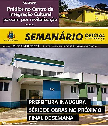 Semanário Oficial - Ed. 916