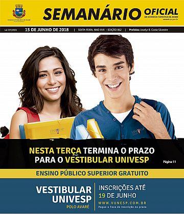 Semanário Oficial - Ed. 862