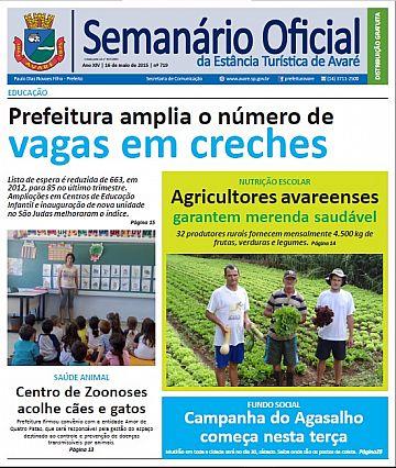 Semanário Oficial - Ed. 719