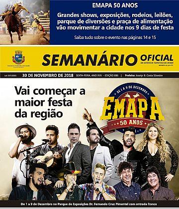 Semanário Oficial - Ed. 886