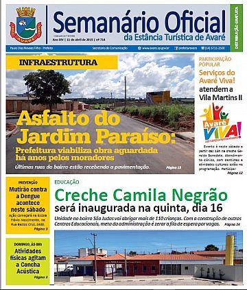 Semanário Oficial - Ed. 714