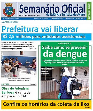 Semanário Oficial - Ed. 710