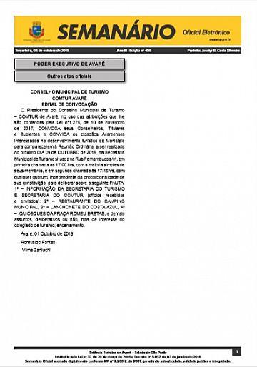 Semanário Oficial - Ed. 456