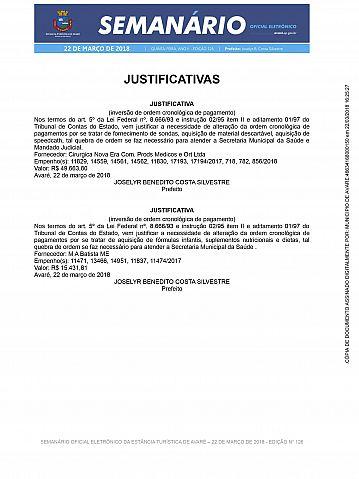 Semanário Oficial - Ed. 126