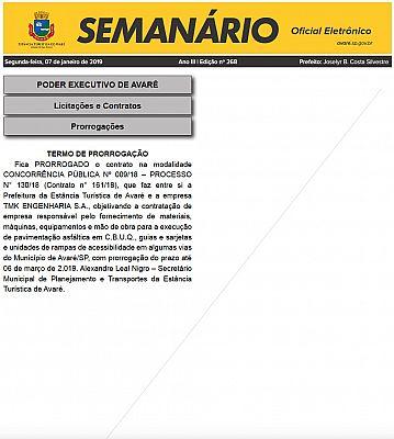 Semanário Oficial - Ed. 268