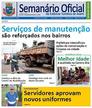 Semanário Oficial - Ed. 703