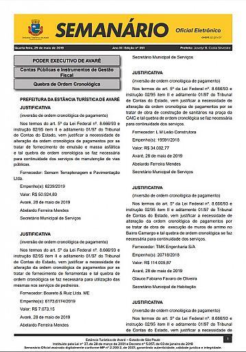 Semanário Oficial - Ed. 351