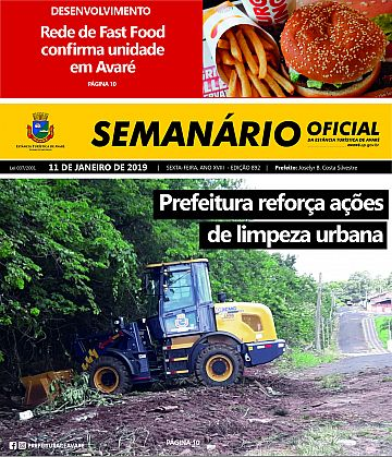 Semanário Oficial - Ed. 892