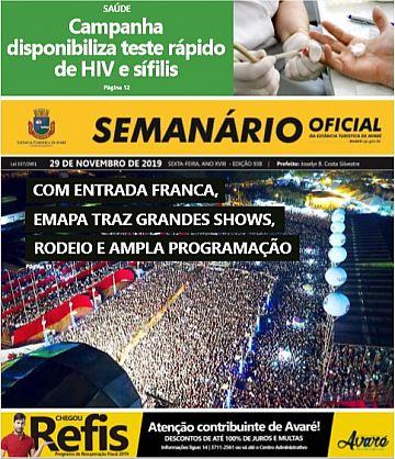 Semanário Oficial - Ed. 938