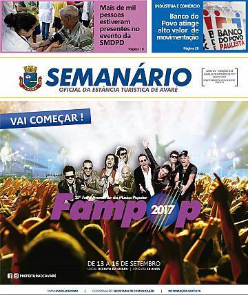 Semanário Oficial - Ed. 834