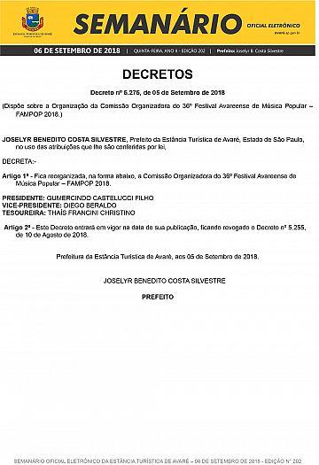 Semanário Oficial - Ed. 202