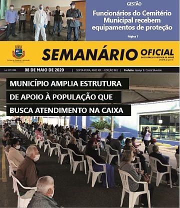 Semanário Oficial - Ed. 961