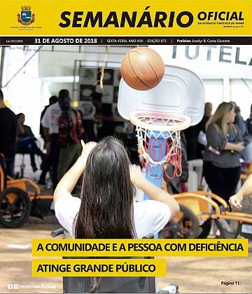 Semanário Oficial - Ed. 873