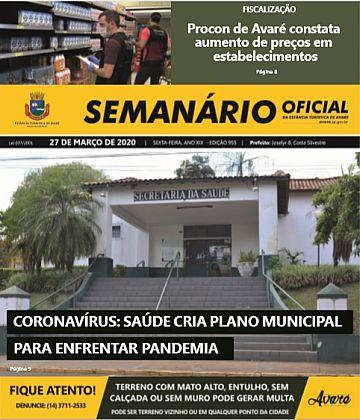 Semanário Oficial - Ed. 955