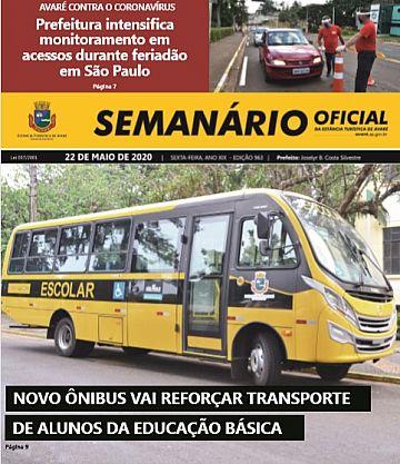 Semanário Oficial - Ed. 963