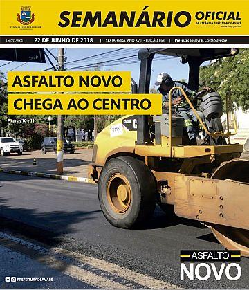 Semanário Oficial - Ed. 863