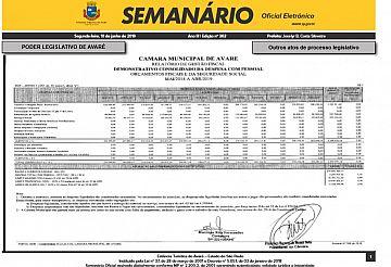 Semanário Oficial - Ed. 362