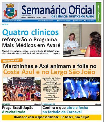 Semanário Oficial - Ed. 706