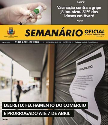 Semanário Oficial - Ed. 956