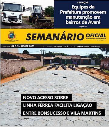 Semanário Oficial - Ed. 1013