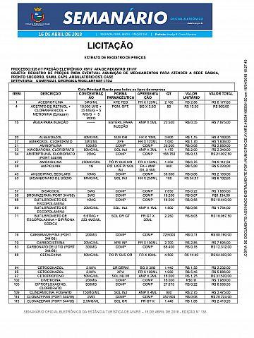 Semanário Oficial - Ed. 136