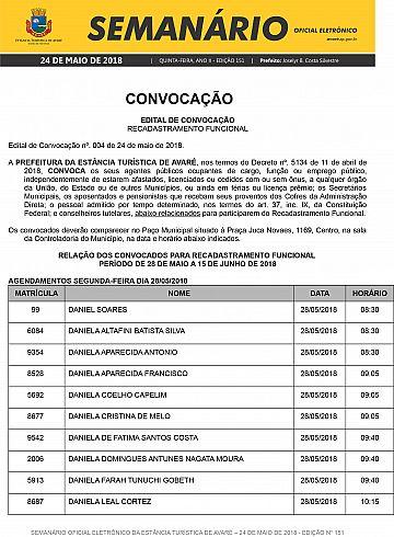 Semanário Oficial - Ed. 151