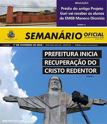Semanário Oficial - Ed. 895