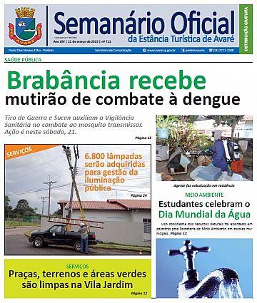 Semanário Oficial - Ed. 711